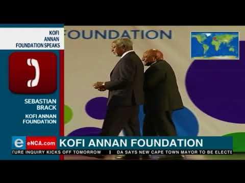 The world still mourning the passing Kofi Annan