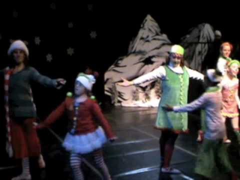 Watch video Down Syndrome: Grinch Ballet