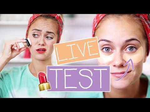 NIE WIEDER AUGENRINGE? - Neue Beauty-Produkte im LIVE TEST   Snukieful