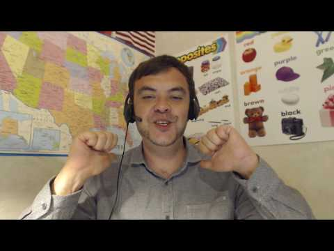 A short video to display my abilities as an online English teacher for adult students.