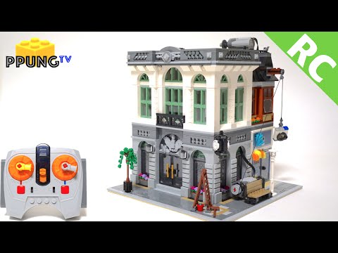Vidéo LEGO Creator 10251 : La banque de briques