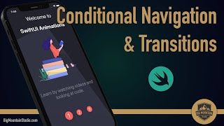 Onboarding - SwiftUI Conditional Navigation and Transition Animation