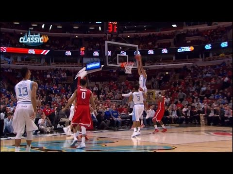 Video: UNC-Ohio State Game Highlights