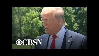 """Trump tells reporters it's """"none of your business"""" what he tells Putin"""