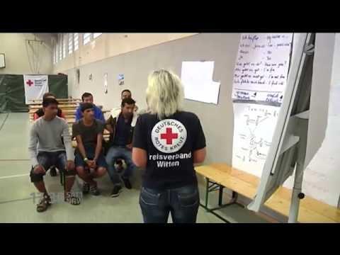 Video und machen einen Einlauf für Analsex