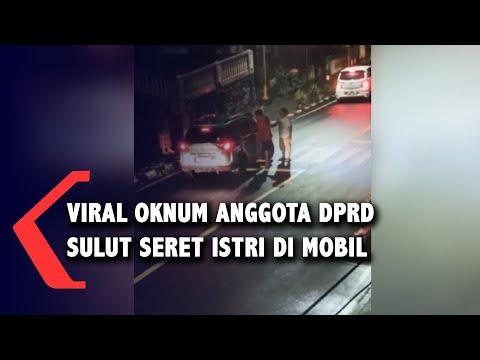 Viral Diduga Oknum Anggota DPRD Dihadang Istri hingga Terseret di Mobil