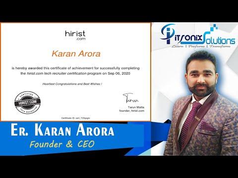 Tech Recruitment Certification Course for HR - Hirist Technical ...