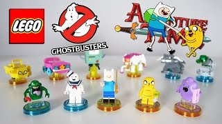 Adventure Time и Ghostbusters - LEGO Dimensions
