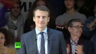 EN DIRECT: Macron en opération séduction à Londres, son meeting après une rencontre avec Theresa May