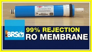 FAQ #47: Why can't I get 99% rejection on my RO membrane?