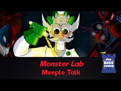 Monster Lab Review - with Meeple Talk