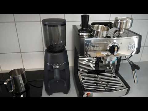 Graef Pivalla im Test: Siebträger Kaffee-Pads und Kapseln in einer Espressomaschine