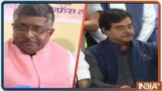 Can BJP's Ravi Shankar Prasad Win From Shatrughan Sinha's Seat Patna Sahib