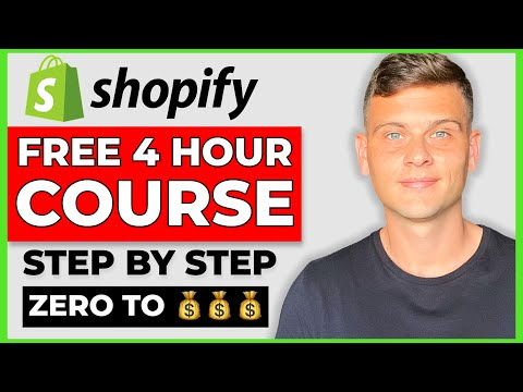 FREE Shopify Dropshipping Course | COMPLETE A-Z BLUEPRINT 2021