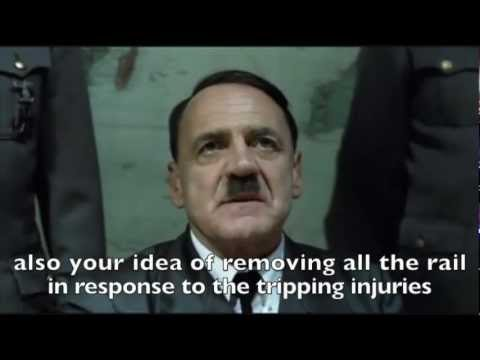 Hitler as a railroad Manager Parody