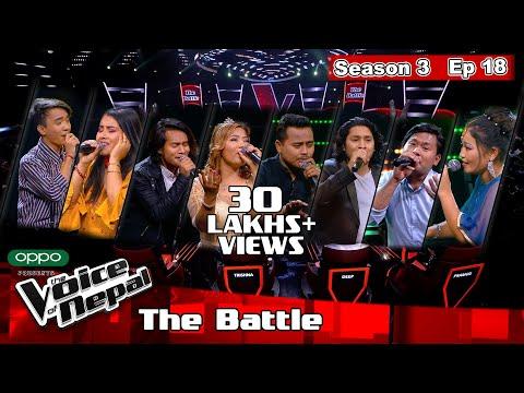 The Voice of Nepal Season 3 - 2021 - Episode 18 (The Battles)