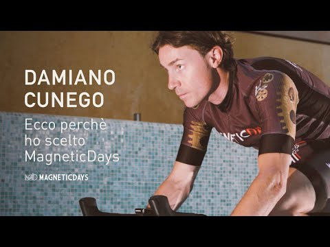 "Damiano Cunego: ""Ecco perché ho scelto MagneticDays!"""