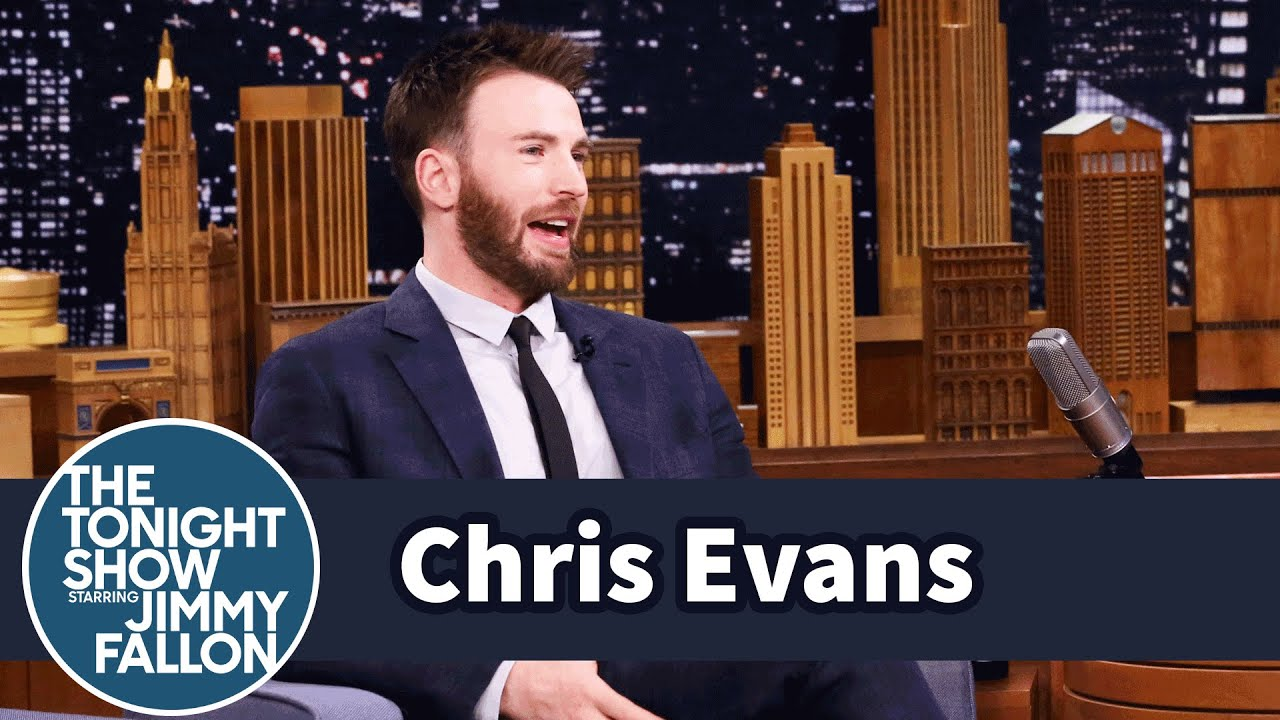 Chris Evans' Rescue Dog Loves to Sit on His Niece thumbnail