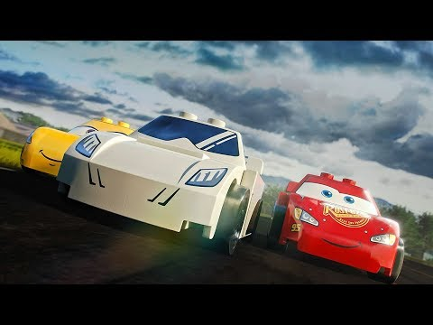 LEGO Stig Vs Lightning McQueen | Top Gear