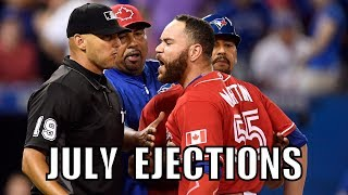 MLB | 2016 July Ejections ᴴᴰ