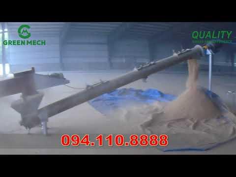 Máy sấy mùn cưa công suất 4 tấn lắp đặt tại Đồng Nai