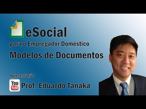 eSocial - Simples Doméstico - Modelos de Documentos