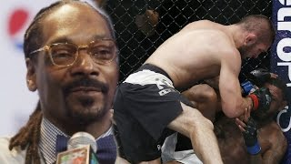 Snoop Dogg Reacts To Khabib Nurmagomedov's Win Over Michael Johnson at UFC 205