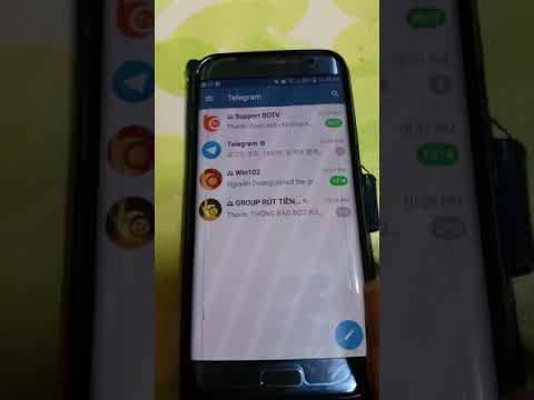 Video hướng dẫn tải telegram về đt