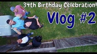 Birthday VLOG! Sailing Hobie AI with Wife, DJI Mavic Pro Drone, Giant Jenga,Kayak BASS fishing