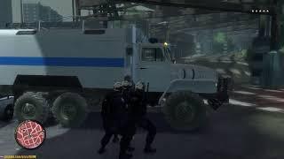 GTA 4 - Показал менту средний палец