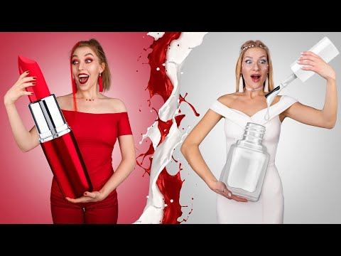 Hot vs Cold / Funny Pranks / Challenge Ideas / Types of People / Good vs Bad