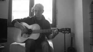 Rising Sun blues ( guitar cover ) Doc Watson