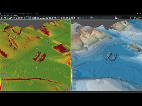 EIVA NaviSuite - Multiple synchronised views in NaviModel