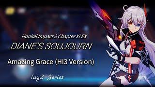 Amazing Grace HI3 Version (Short Lyrics)