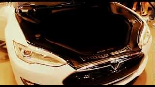 Tesla Model S Beta Walkaround