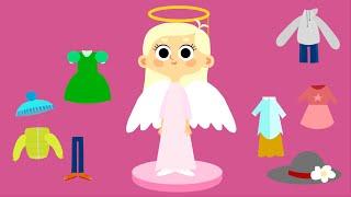 Мультики для девочек - Ма́шины одёжки - Серия 9