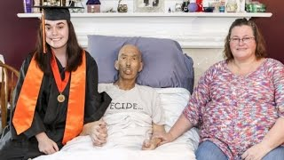 School Moves Up Senior's High School Graduation So Dying Dad Could Attend