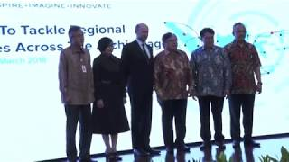 Peluncuran Indonesia Development Forum 2018