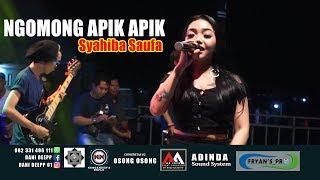 NGOMONG APIK APIK - SYAHIBA SAUFA (Live) AA JAYA MUSIC