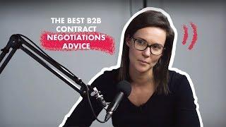 The best B2B contract negotiations advice with Anneleen Vander Elstraeten Four & Five - Sas EP56