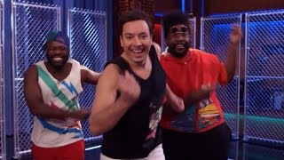 "Jimmy Fallon Recreates ""Fresh Prince"" Rap With DJ Jazzy Jeff & Alfonso Ribiero"