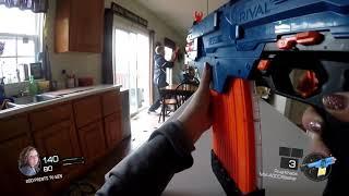 Nerf War:  Call of Duty Gun Game 2