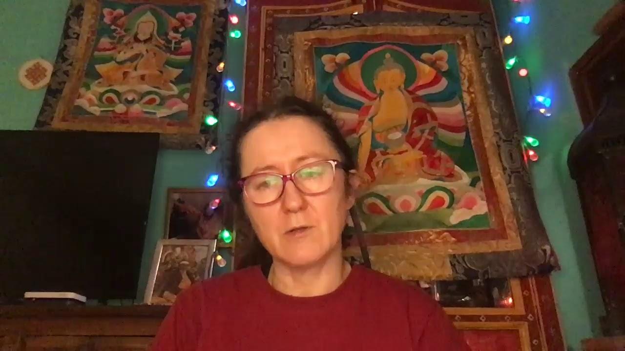 Lama Gangchen Tantric Self-Healing 2- Commentary by Lama Caroline - part 31 (EN)
