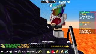 Minecraft Survival Games: Game 14- OMG IBeaturscore