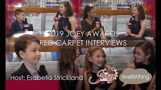 eveRIAthing's Youngest Host 14-Yr Old Esabella Strickland Wows The Stars!