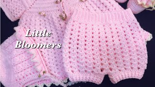 Crochet Diaper Cover, Crochet Baby Bloomers, Crochet Baby Shorts - EASY 3-6M + - Crochet For Baby