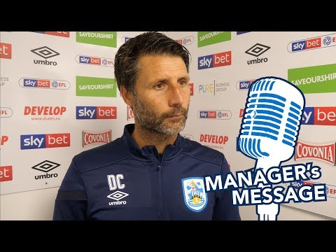 🗣 MANAGER'S MESSAGE | Danny Cowley on Sheffield Wednesday defeat