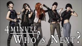 [VOCAL COVER] 4minute - Who's Next?