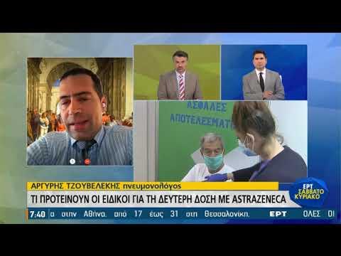 Αργύρης Τζουβελέκης: Πιο επικίνδυνο το mix εμβολίων | 19/06/2021 | ΕΡΤ