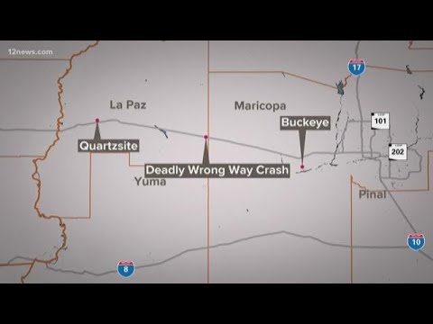 Four killed in I-10 crash between Marana, Picacho Peak roads